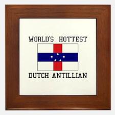 World's Hottest Ducth Antillian Framed Tile