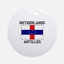 Netherlands Antilles Ornament (Round)