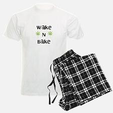 Wake N Bake Men's Light Pajamas