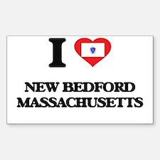 I love New Bedford Massachusetts Decal