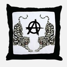 DOUBLE TIGER - ANARCHY Throw Pillow
