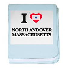 I love North Andover Massachusetts baby blanket