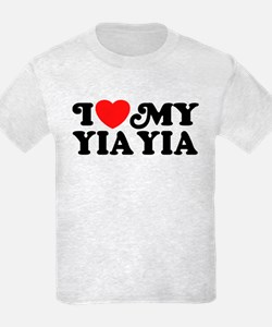 I Love My Yia Yia T-Shirt