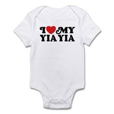 I Love My Yia Yia Infant Bodysuit
