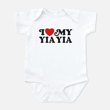 I Love My Yia Yia Onesie