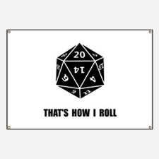 20 Sided Dice Roll Banner