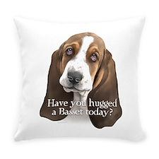 Basset hug Everyday Pillow