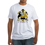 Swallow Family Crest  Fitted T-Shirt