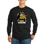 Swallow Family Crest Long Sleeve Dark T-Shirt