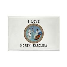 I love North Carolina Magnets