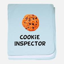 Cookie Inspector baby blanket