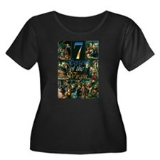 7 Sorrows of the Virgin Plus Size T-Shirt