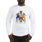 Swain Family Crest Long Sleeve T-Shirt
