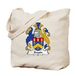Swain Family Crest Tote Bag