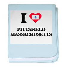 I love Pittsfield Massachusetts baby blanket