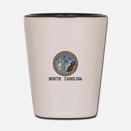 North Carolina Shot Glass
