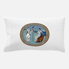 North Carolina State Seal Pillow Case