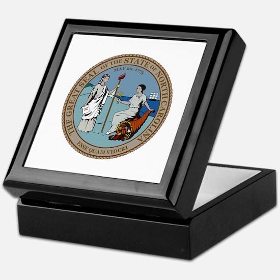 North Carolina State Seal Keepsake Box