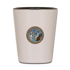 North Carolina State Seal Shot Glass