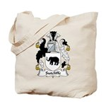 Sutcliffe Family Crest Tote Bag