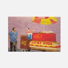 New Orleans Lucky Dog Cart Magnets