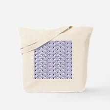 purple eyes Tote Bag