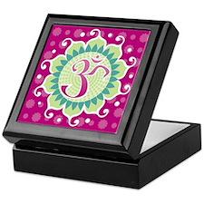 Lotus Aum Fuschia - Keepsake Box