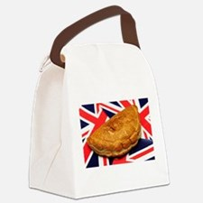 Cornish Pasty Canvas Lunch Bag