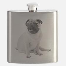 The Shady Pug Flask