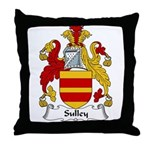 Sulley Family Crest Throw Pillow