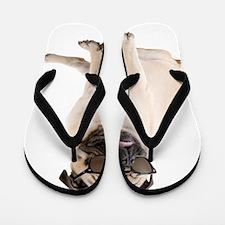 The Shady Pug Flip Flops