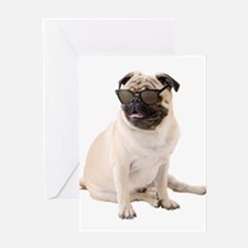 The Shady Pug Greeting Cards