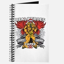 Real Heroes Firefighter Journal