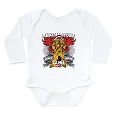 Real Heroes Firefighte Long Sleeve Infant Bodysuit
