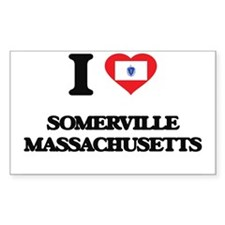 I love Somerville Massachusetts Decal