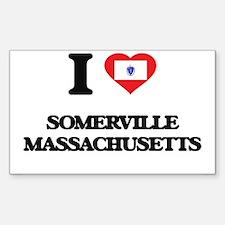 I love Somerville Massachusetts Decal