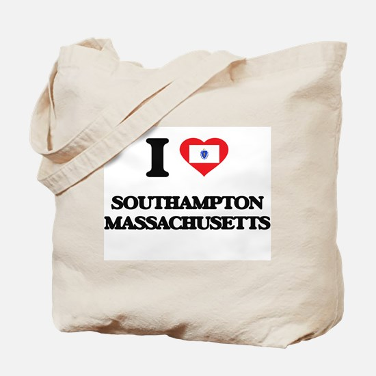 I love Southampton Massachusetts Tote Bag