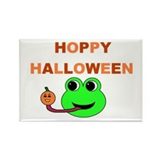 HOPPY HALLOWEEN Rectangle Magnet