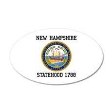 New Hampshire Statehood Wall Decal