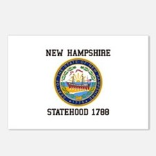 New Hampshire Statehood Postcards (Package of 8)