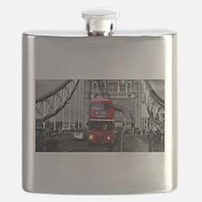 Lon Bus on Tower Bridge Flask