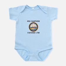 New Hampshire Statehood Body Suit