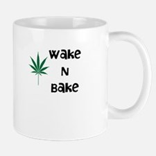 Wake N Bake Marijuana Mug Mugs