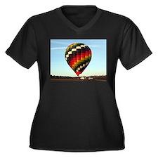 Hot Air Balloon 5 Plus Size T-Shirt