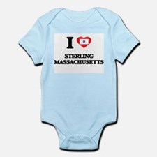 I love Sterling Massachusetts Body Suit