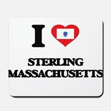 I love Sterling Massachusetts Mousepad