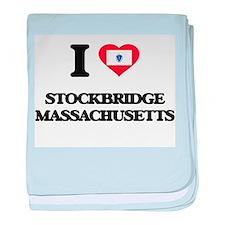 I love Stockbridge Massachusetts baby blanket