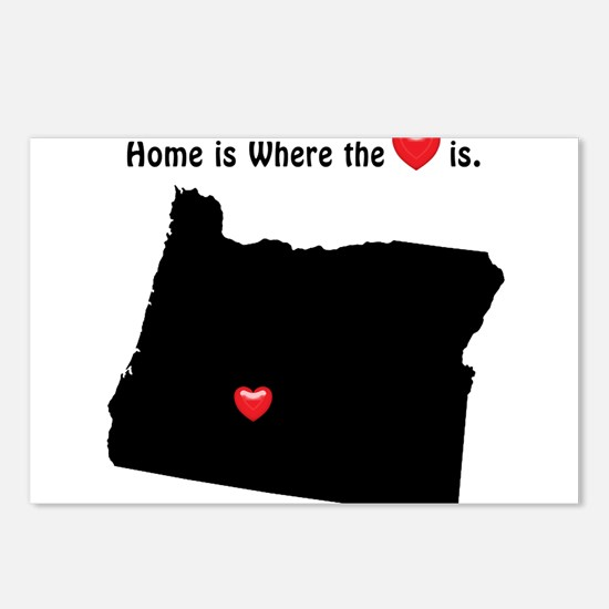 OREGON Home is Where the Postcards (Package of 8)