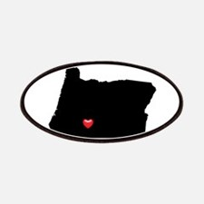 OREGON Home is Where the Heart Is Patch