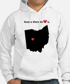 OHIO Home is Where the Heart Is Hoodie